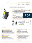 f2103 Gprs Ip Modem Technical Specification
