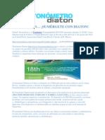 Diaton Tonometer Presented at Pan-American Cornea 2012