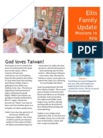 Ellis Family Mission Update Fall 2012