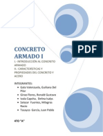 1- Introduccion Al Concreto Armado y Caracteristicas y Propiedades