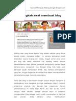 Tutorial Dasar-dasar Membuat Blog