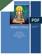 La Moral y La Etica en El Desarrollo Personal Del Ser Humano