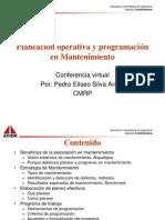 Planeacion Operativa y Programacion en Mantenimiento