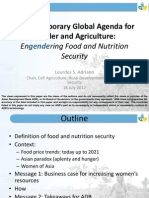 Engendering Food and Nutrition Security