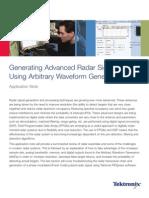 Note Generating Advanced Radar Signals Using Arbitrary Waveform Generators-76W-20730-1