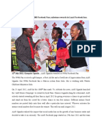 AAR Uganda Celebrates 1000 Facebook Fans Milestone, Rewards Its Loyal Facebook Fans.