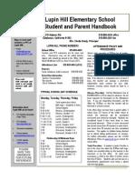 Parent Handbook 2012-2013