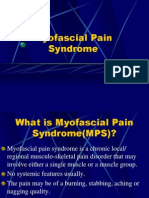 Patho-Physiology of Fibromyalgia & Myofascial Pain