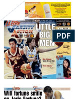 INQUIRER LIBRE Varsity Action Aug. 17, 2012