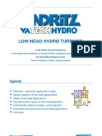 Pres4VATECH HYDRO_Low Head Hydro Turbines r2 Dieter Kromphol