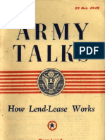 Army Talks ~ 10/27/43
