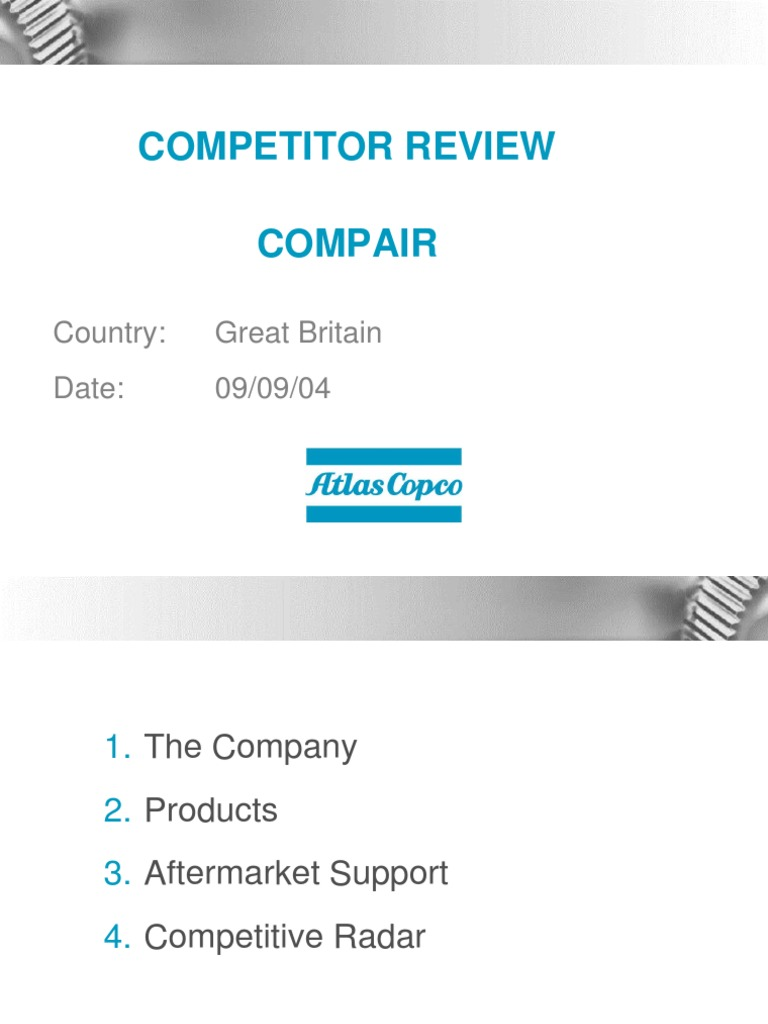 item description compair model 6060n10a broomwade 6000n Array - compair  airpower presentation gas compressor natural gas rh es scribd ...