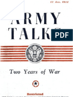 Army Talks ~ 01/12/44