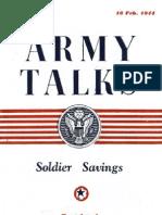 Army Talks ~ 02/16/44