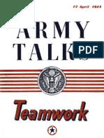 Army Talks ~ 04/12/44