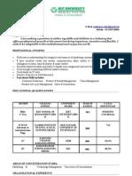 Sandeepan's Resume