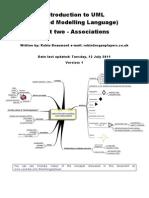 Introduction to UML Part 2 - Associations