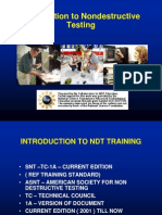 Non destructive testing Introduction