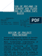 31371146 Application of Hec Hms in Rainfall Runoff and Flood Simulations in Lower Tapi Basin