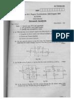 02EC302 Network Analysis July Aug 2005