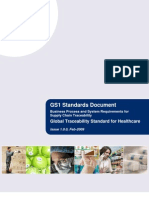 Global Traceability Standard Healthcare
