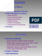 Sample Project Mgmt Course