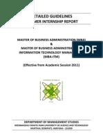 Guidelines SIR Wef 2011