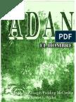 Adan El Hombre Editado Por Joseph Fielding Mcconkie y Robert l Millet