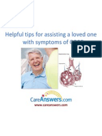 Helpful Tips for Assisting a Loved One with Symptoms of COPD
