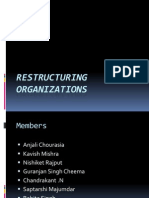 Restructuring Organizations Final