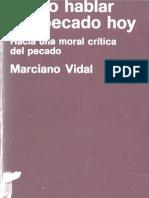 Vidal, Marciano - Como Hablar Del Pecado Hoy