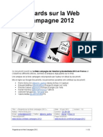 Regards sur la webcampagne 2012