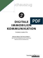 """Buchauszug """"Digitale Immobilienkommunikation"""" (Verlag Immobilienzeitung)"""