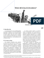 Katz, C. - Hipótesis revolucionarias [2010]