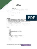 Perulangan Pada PHP MySQL