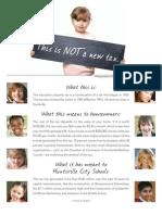 Fact Sheet Huntsville Property Tax Renewal