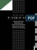 Manual Yamaha P-95 em português