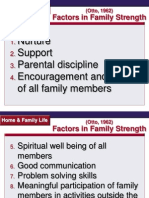 Characteristics of Effective Families