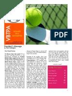 VBTPAnewsletter Summer 2012
