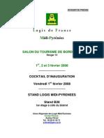 Dossier Presse Logis salon bordeaux 2008