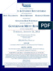 Luncheon with Rob Portman for Romney Victory Inc.