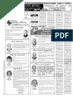 Petites annonces et offres d'emploi du Journal L'Oie Blanche du 22 août 2012