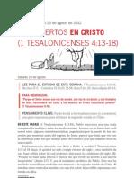 08 Los Muertos en Cristo