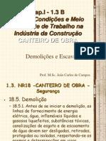 Cap.I - 1.3.2 - Demolies - Escavaes - NR18