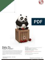Baby Po Kung Fu Panda