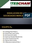 Disolucion de Las Sociedades Mercantiles