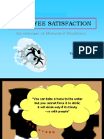 Ppt on Employee Satisfaction