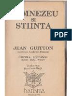 Dumnezeu și știința - Jean Guitton (1991)