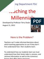 Marketing Dept Millinnials Presentation