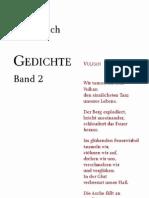 VARIOSJ. Bach - Gedichte Band 2